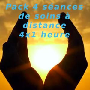 Pack 4 séances de soins à distance